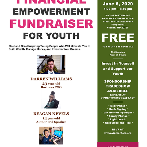Financial Empowerment Fundraiser For Youth