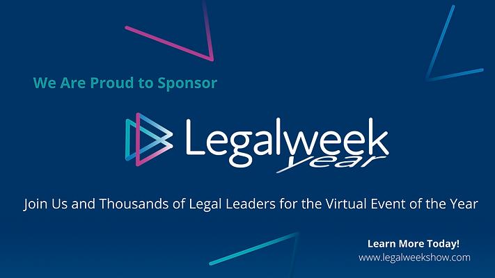 Legalweek(year) Social Sponsor Ad_Generi