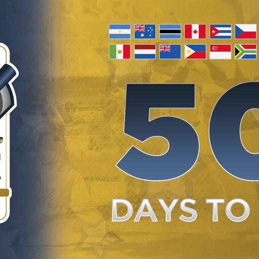 A 50 días del primer Campeonato Mundial de Sóftbol Varonil