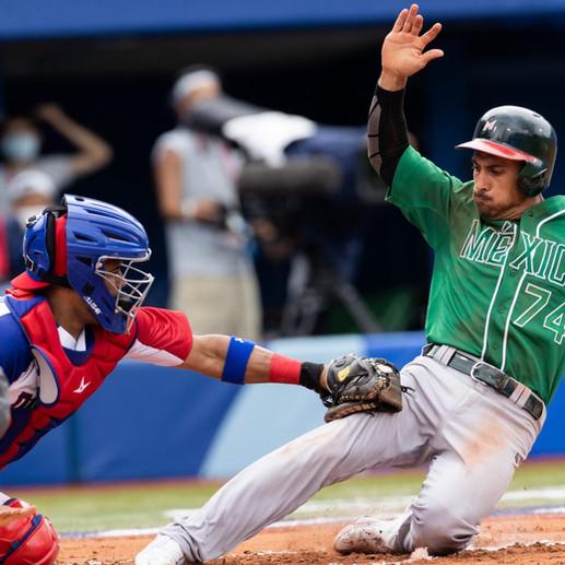México debuta en el beisbol olímpico y cae ante Dominicana