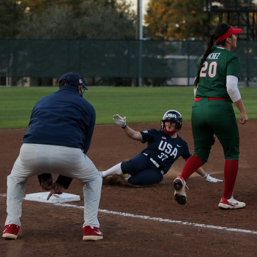 USA Softball se lleva la victoria en el primer juego de la serie contra SóftbolMX