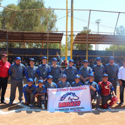 Tijuana Municipal regresará a la Serie Mundial Bronco 12U