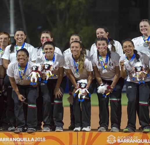 México obtiene medalla de plata en sóftbol