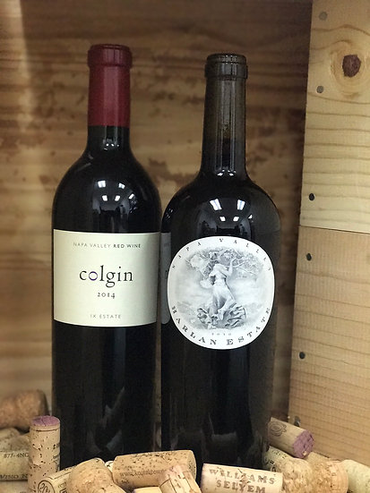 2013 HARLAN ESTATES NAPA VALLEY & 2014 COLGIN IX ESTATE NAPA VALLEY (メリタージュ)