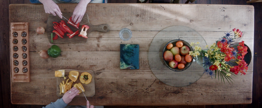 Amber Blue Short Film Table