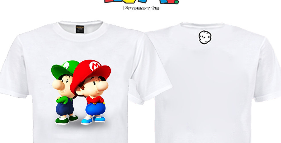 Camiseta Baby Mário
