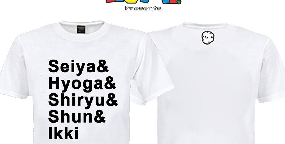 Camiseta Seiya e os outros