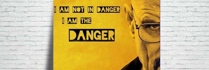 Azulejo Breaking Bad Danger