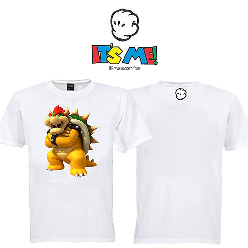 Camiseta Bowser