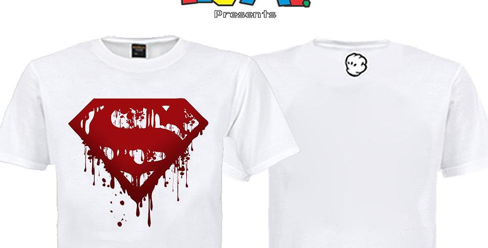 Camiseta Superman Sangrando