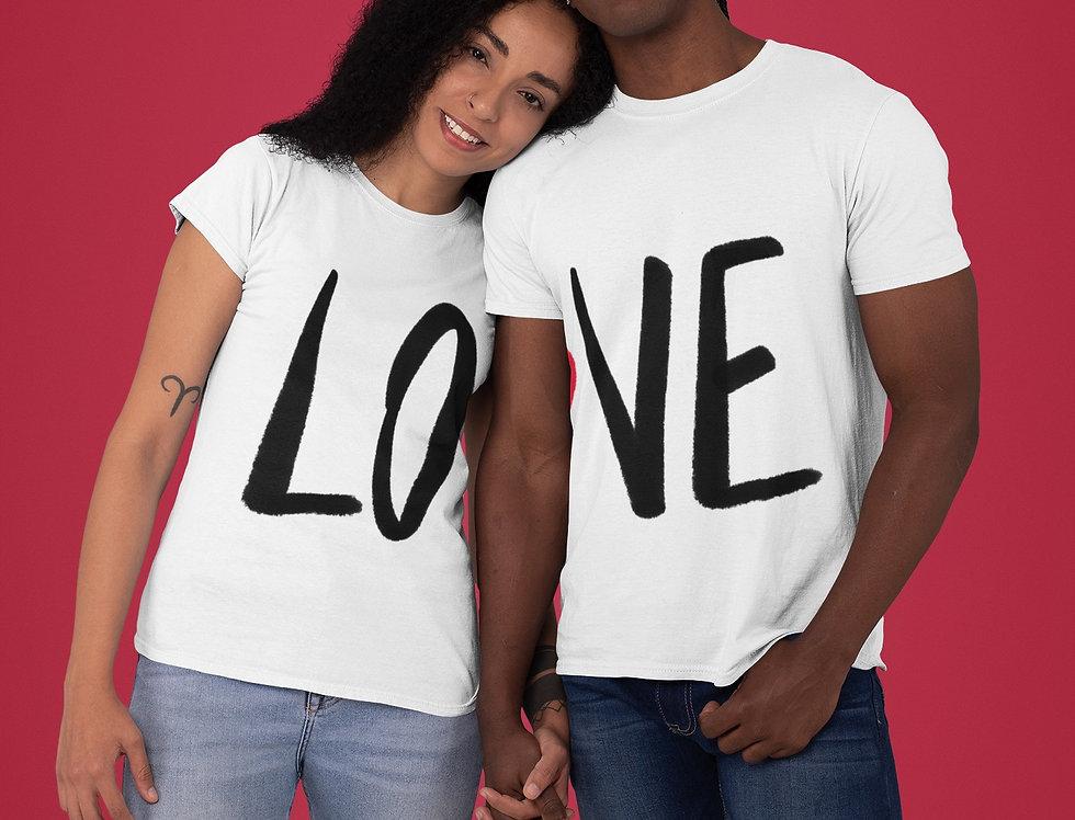 Kit Camisetas LOVE