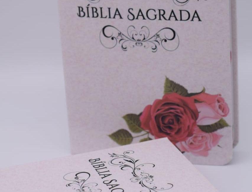 Bíblia Sagrada - Rosa