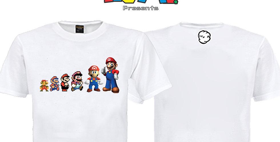 Camiseta Mário - Evolução