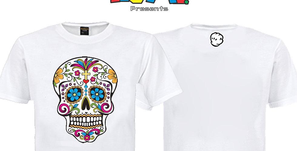 Camiseta Caveira Mexicana
