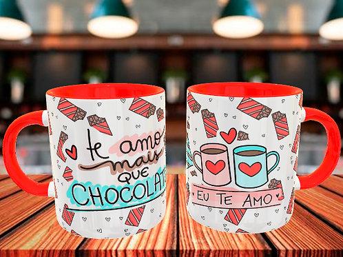 Te Amo mais que chocolate