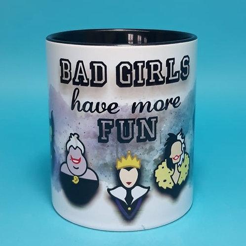 Caneca Bad girls have more fun