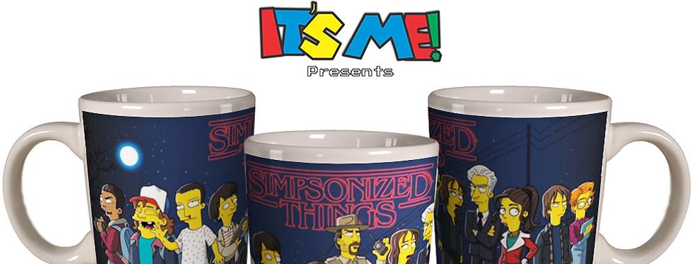 cópia de Caneca Stranger Things - Simpsonized