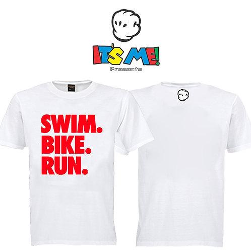Camiseta Swim Bike Run