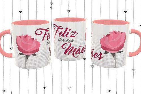 Feliz dia das mães - Rosa