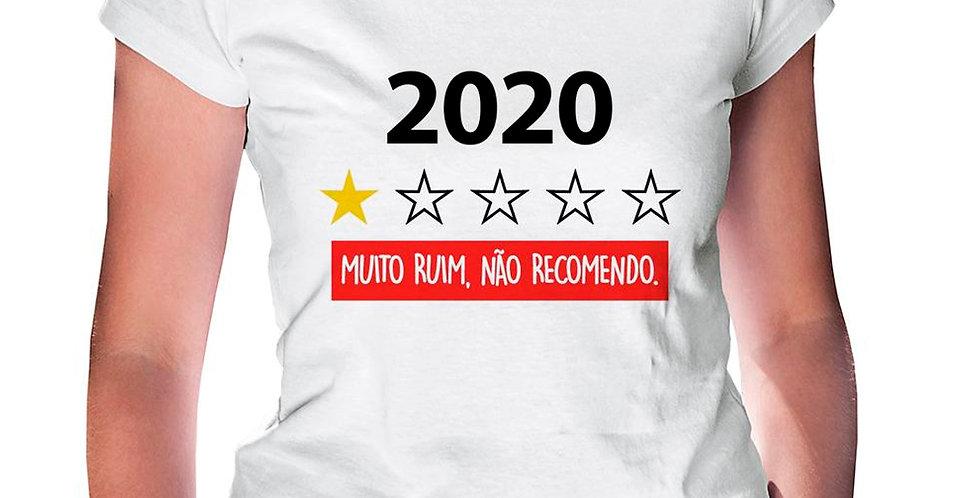 2020 Muito ruim, não recomendo.