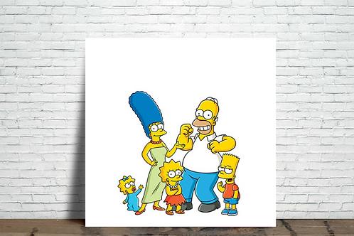 Azulejo The Simpsons