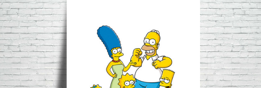 Azulejo The Simpsons