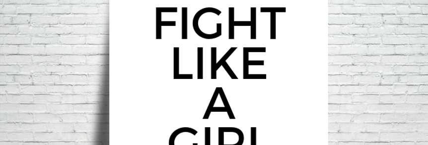 Azulejo Fight like a girl
