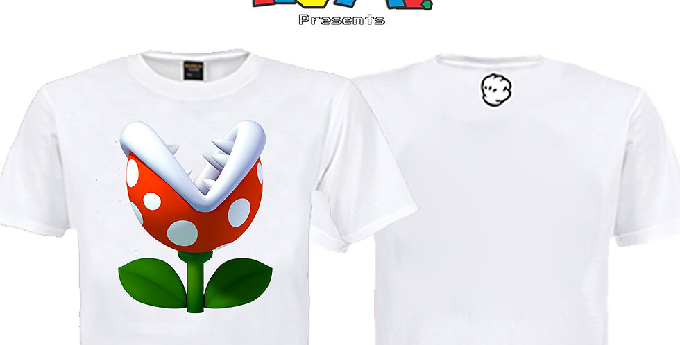 Camiseta Planta Super Mário