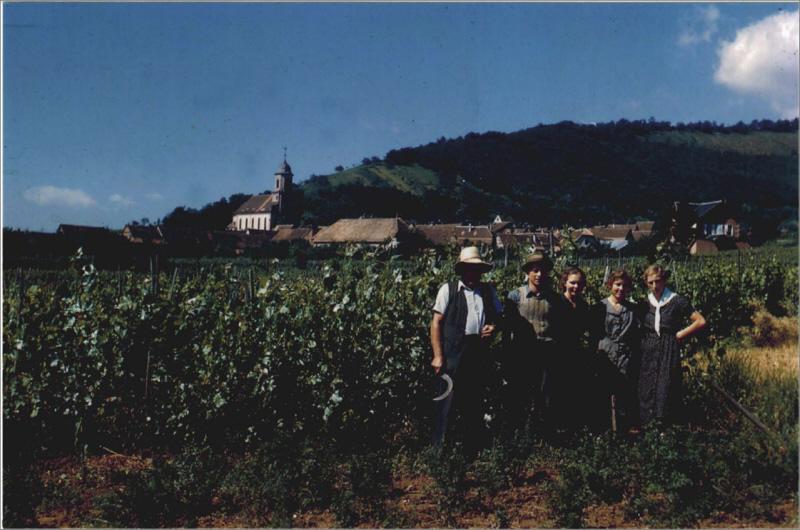 La famille Allimant, années 1960