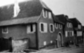 Photo d'archive façade domaine Allimant Laugner à Orschwiller