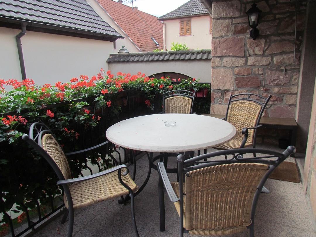 Balcon terrasse Rossignol