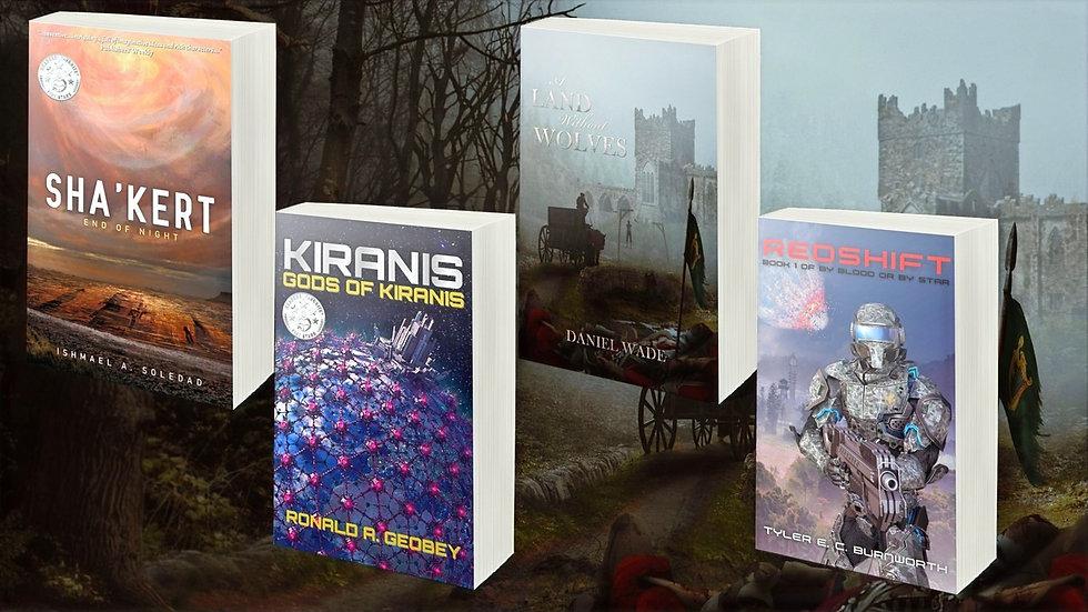 Temple Dark Books 2021 Releases