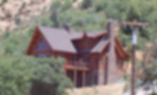Log Home built by Babcock Construction