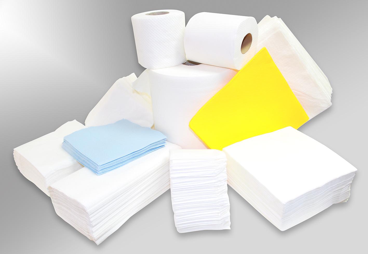 Paper Tissue & Dispenser