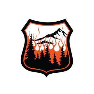 Alpine Defensible Space logo design by Dashmark Designs