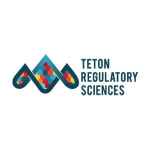 Teton Regulatory Sciences logo design and branding by Dashmark Designs