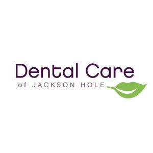Dental Care of Jackson Hole logo design and branding by Dashmark Designs