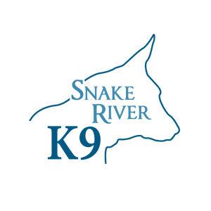 Snake River K9 logo design and branding by Dashmark Designs