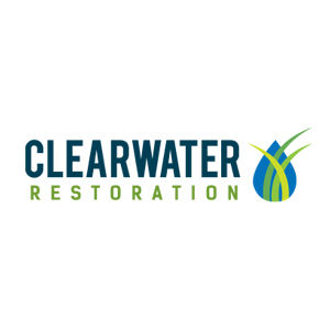 Clearwater Restoration logo design and branding by Dashmark Designs