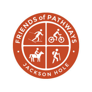 Friends of Pathways of Jackson Hole logo design by Dashmark Designs