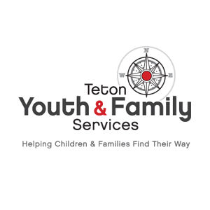 Teton Youth & Family Services logo design and branding by Dashmark Designs