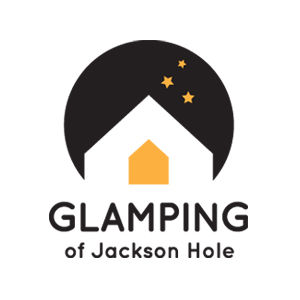 Glamping of Jackson Hole logo design and branding by Dashmark Designs