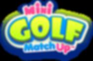 Mini Golf MatchUp Title Logo
