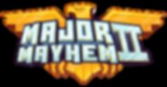 Major Mayhem Title Logo