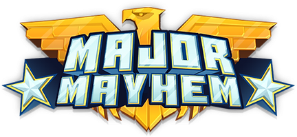Major Mayhem Title Logo