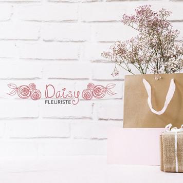 Création d'un logo pour un fleuriste
