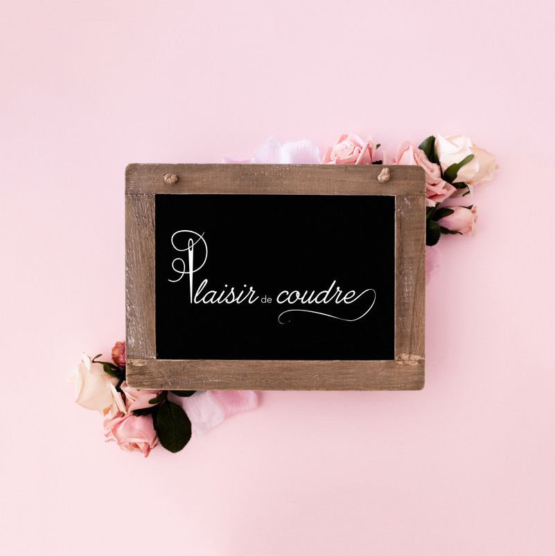 Création d'un logo pour un cour de couture