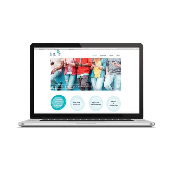 Site web Imajn coaching scolaire