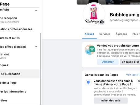 Comment publier sur facebook