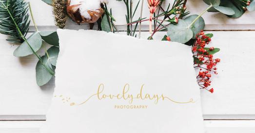 Création d'un logo pour une photographe Lovely days